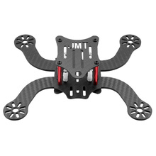 New JMT High Durability 3K Full Carbon Fiber 194mm with 3mm Arm Frame Kit Quadcopter for DIY Freestyle Mini FPV Racing Drone цена 2017