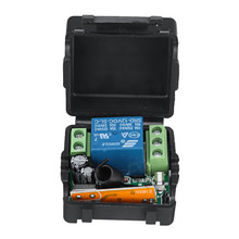 433Mhz 1CH Wireless RF Relay Remote Control Switch Transmitter DC 12V Electrical Receiver Module Board Shell Mayitr