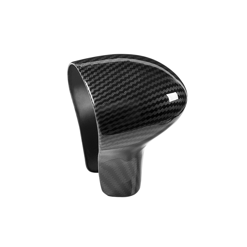 Image 3 - For Audi A4L 13 16 / A5 12 16 / Q5 13 18 / Q7 13 15 A6L 12 15 / A7 S6 S7 Carbon Fiber Car Gear Shift Knob Head Cover only LHD-in Interior Mouldings from Automobiles & Motorcycles