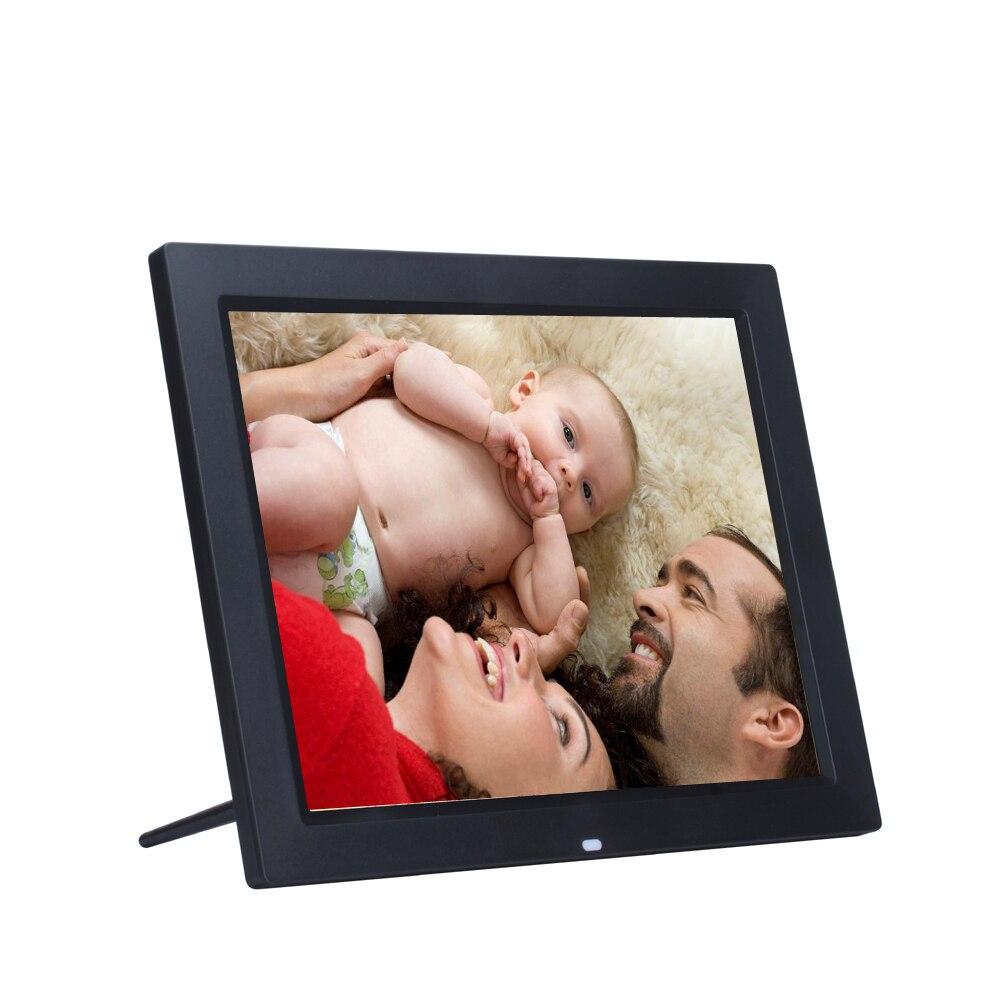 15 pulgadas de retroiluminación LED HD 1280*800 marco de fotos Digital LCD pantalla electrónica álbum MP3 MP4 Video digitale foto