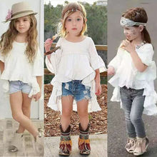 Baby Girls Clothing Ruffled Blouse Outfits