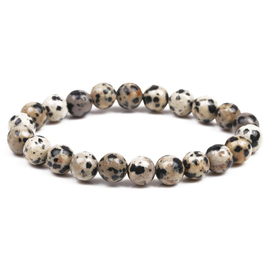 Chakra Beaded Bracelet Men 8mm Natural Stone Lava Rock Tiger Eye Black Onyx Matte Healing Beads Stretch Charm Yoga Women Jewelry