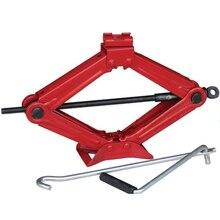 Домкрат ромбовидный механический SPARTA 50383 (Высота подхвата 85 мм, подъем на 380 мм, максимальная нагрузка 1500 кг)