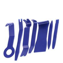 7pcs Hard Plastic Auto Car Radio Panel Interior Door Clip Trim Dashboard Removal Opening Tool Set DIY Repair Kit