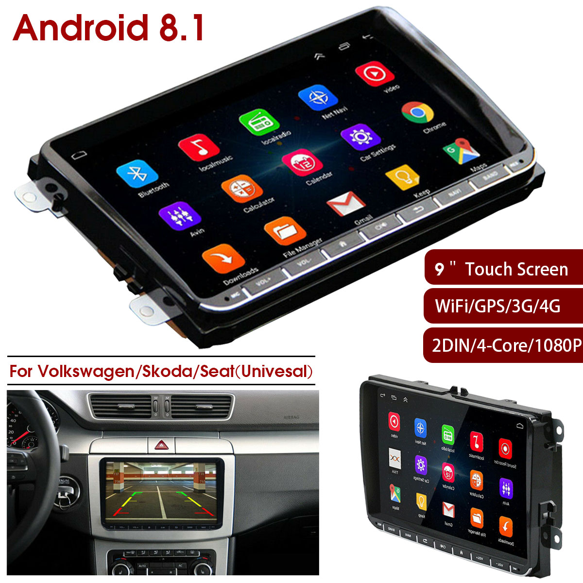 9inch HD Car GPS Navigation FM Bluetooth Touches Screen Truck gps Upgrade Sat nav Automobile Gps Navigators High Quality sat nav