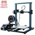 CREALITY 3D CR-10S 3D impresora con filamento de Monitor Dual actualización plomo tornillo eje Z gran tamaño 300x300 x 400mm
