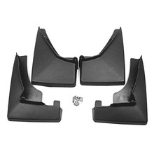 4pcs Premium Auto Front&Rear Heavy Duty Molded Flares Splash Mud Flaps Guards Fenders For Cadillac SRX 2008-2019 for cadillac srx mudguards cadillac mud flaps srx splash guards fenders car accessories auto styling 2009 2015