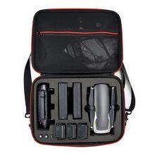 Saco de armazenamento à prova dwaterproof água hardshell bolsa caso para transporte dji mavic ar drone & 3 baterias e acessórios transportar saco com st