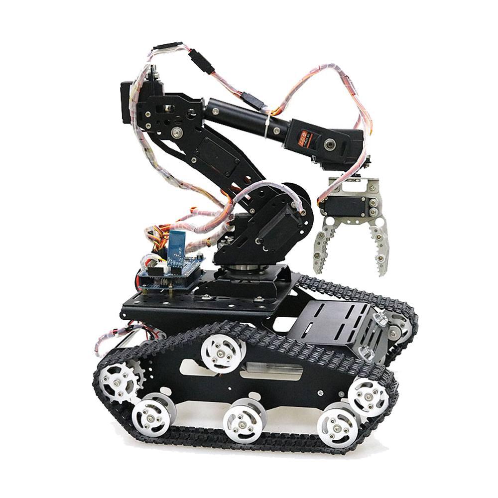Robot en Aluminium 7DOF PS2 bras de commande bras robotique mécanique pince Kit de montage de griffe pour figurine jouet d'action Arduino