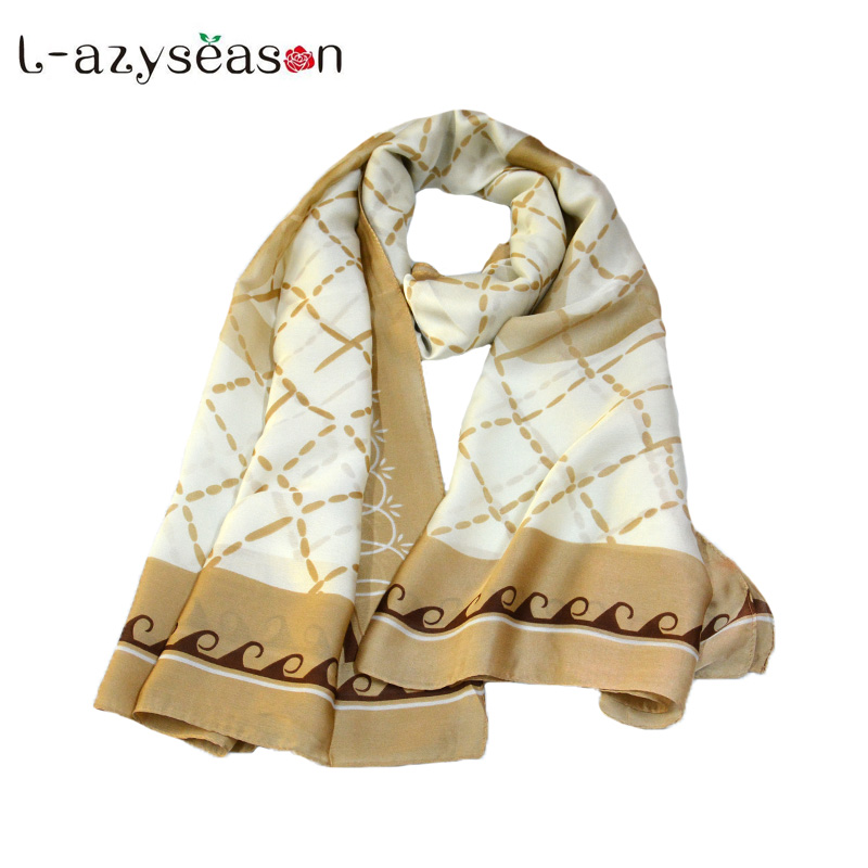 Fashion Designer Silk   scarf   women Summer Beach Shawl Print head   Scarves     Wraps   Plus Size female kerchief echarpe femme hiver gift
