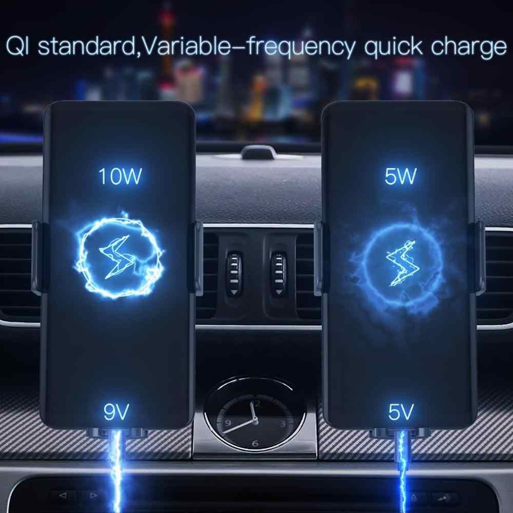 JAKCOM CH2 Smart Беспроводной автомобиля Зарядное устройство Держатель Горячая Распродажа в Зарядное устройство s как homekit cargador portátil