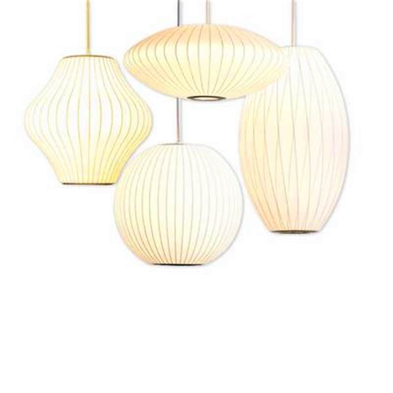 Nordic Silk Tatami Chandelire Staircase Danish Dining Hall Bar Clothing Shop Pendant Lamps Lantern Lampshade Restaurant LustreNordic Silk Tatami Chandelire Staircase Danish Dining Hall Bar Clothing Shop Pendant Lamps Lantern Lampshade Restaurant Lustre