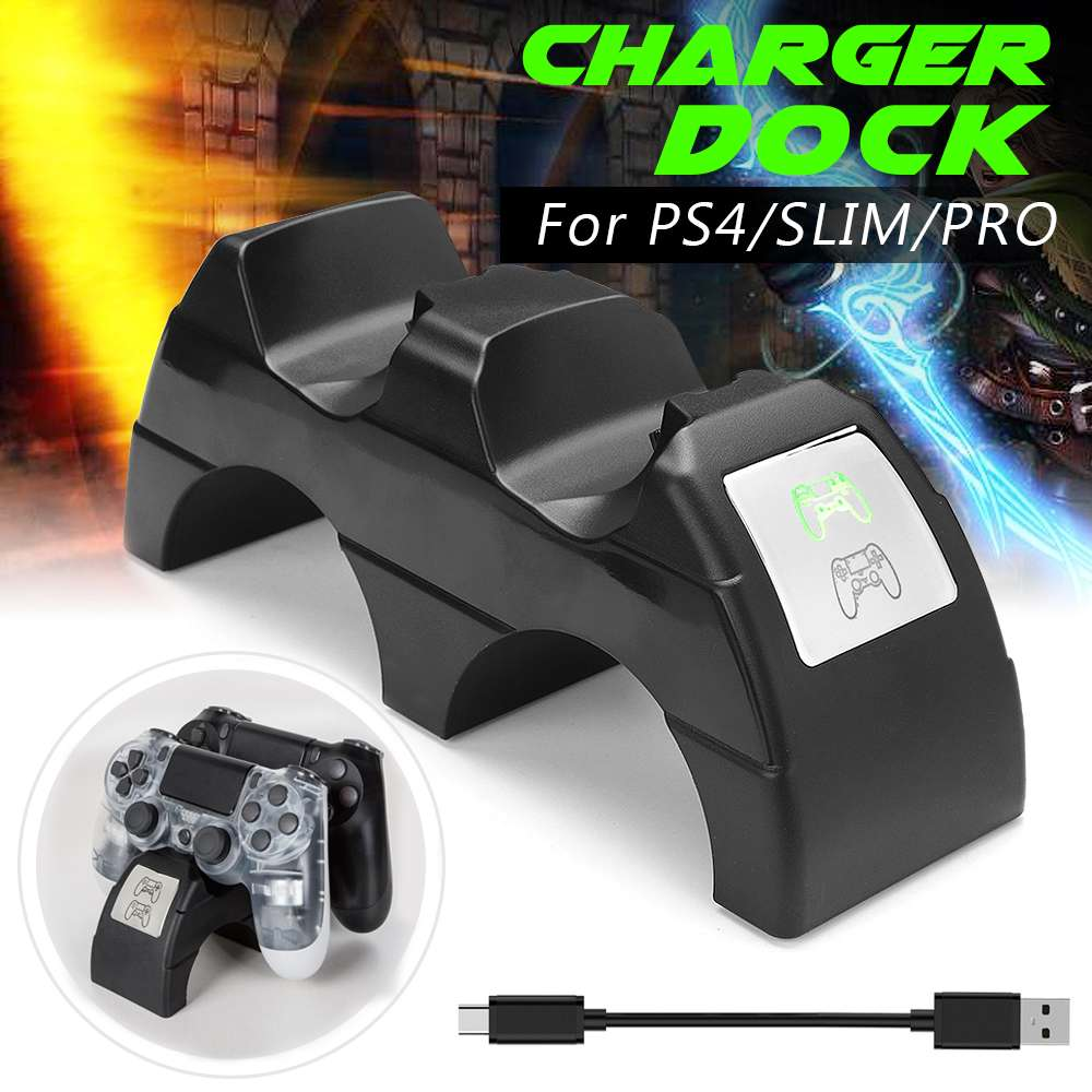 Dual LED Wireless Charging Dock Controller Fast Charger Station Arch Bridge Shape Game Handle Charger For PS4/Pro/SlimDual LED Wireless Charging Dock Controller Fast Charger Station Arch Bridge Shape Game Handle Charger For PS4/Pro/Slim