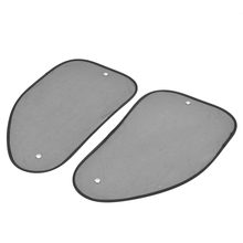 1 Pair L&R Car Side Window Mesh Sun Shade Windshield Visor Cover Shield Sunshade UV Protector Car Window Film Car Accessories цена 2017