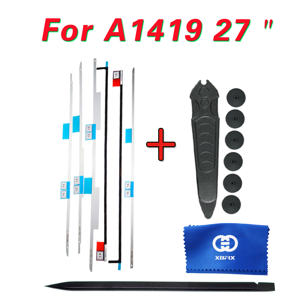 076-1437 076-1422 076-1444 LCD Display Adhesive Strip Sticker Tape / Tools Repair Kit For IMac A1419 A2115 27