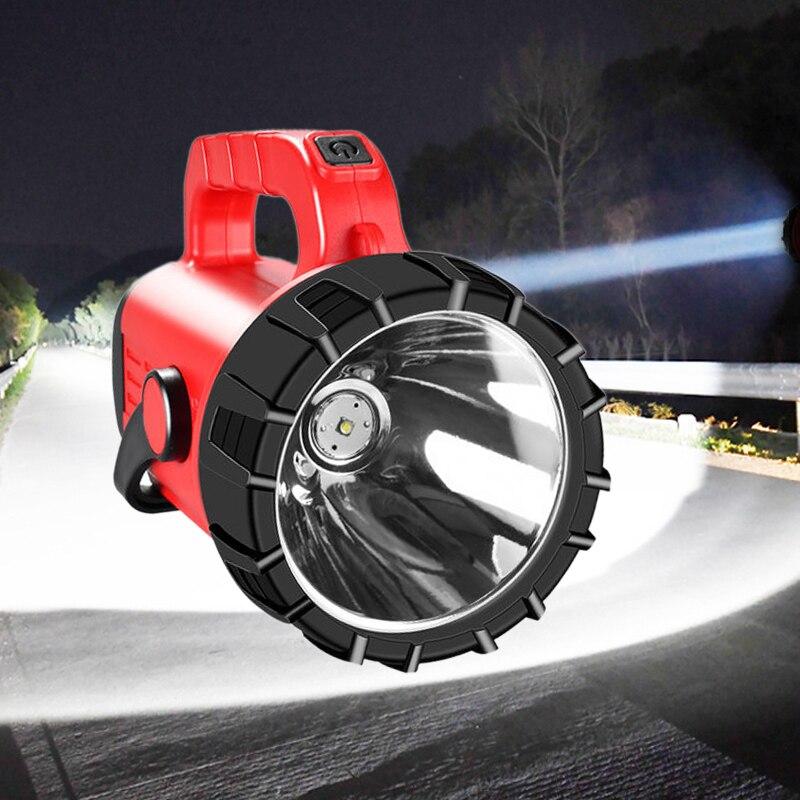500W Flashlight long range 1500lm Lantern super bright xenon portable waterproof searchlight Spot Work Light Outdoor