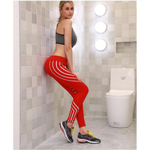 Women Gym Pants Sexy Mesh Stitching Workout Leggings Fitness High Waist Gym Sport Pants Running Leggings Women mesh trim color block gym leggings
