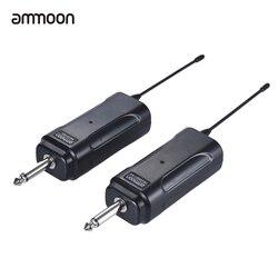 ammoon Audio Wireless Guitar Transmitter Receiver System Guitar Transmission Set for Electric Guitar Bass Violin Ukulele