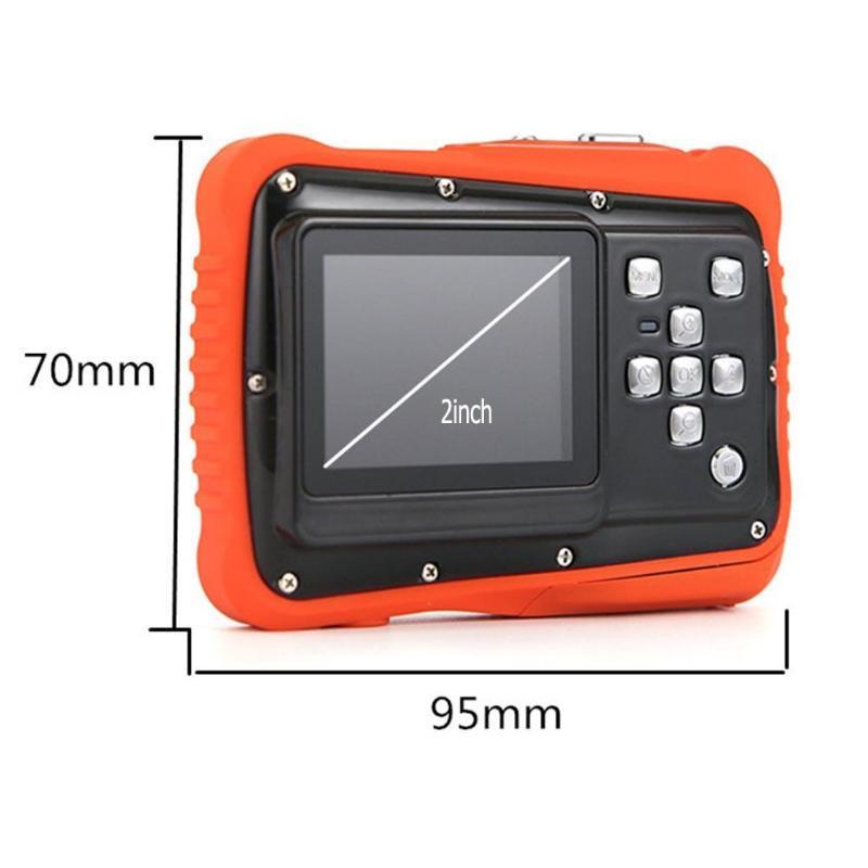 Enfants Cartton Mini caméra numérique 2 pouces 12MP HD 720 P étanche caméscope Portable enregistreur vidéo avec Microphone jouets de noël - 6
