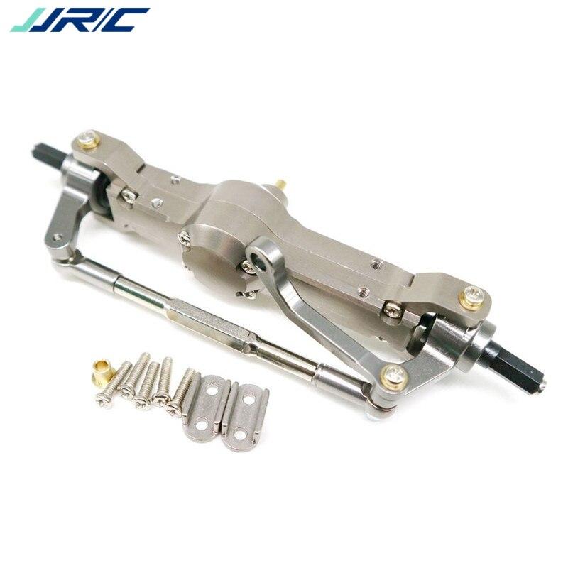 Racerstar WPL B36 Heng Long JJRC Q60 1/16 2.4G camion militaire Rc pièces de voiture essieu avant en métal