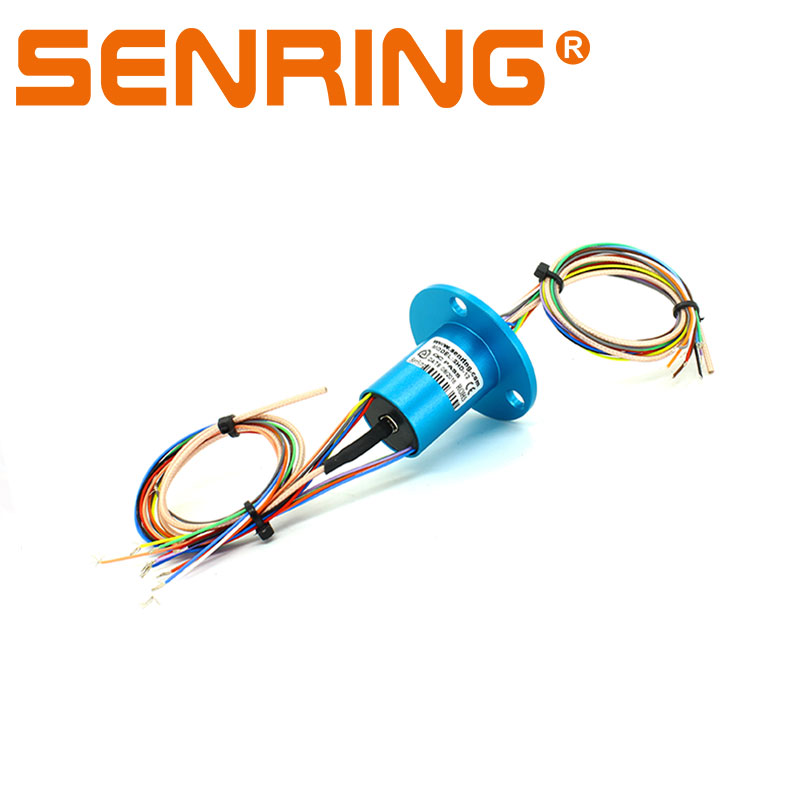 1 canale HD RF cavo coassiale con 12 circuiti 2A capsule slittamento anello OD 22mm1 canale HD RF cavo coassiale con 12 circuiti 2A capsule slittamento anello OD 22mm