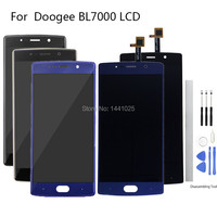 Display Screen Replace For Doogee BL7000 LCD Touch screen 5.5 inch black For doogee BL7000 Touch screen LCD