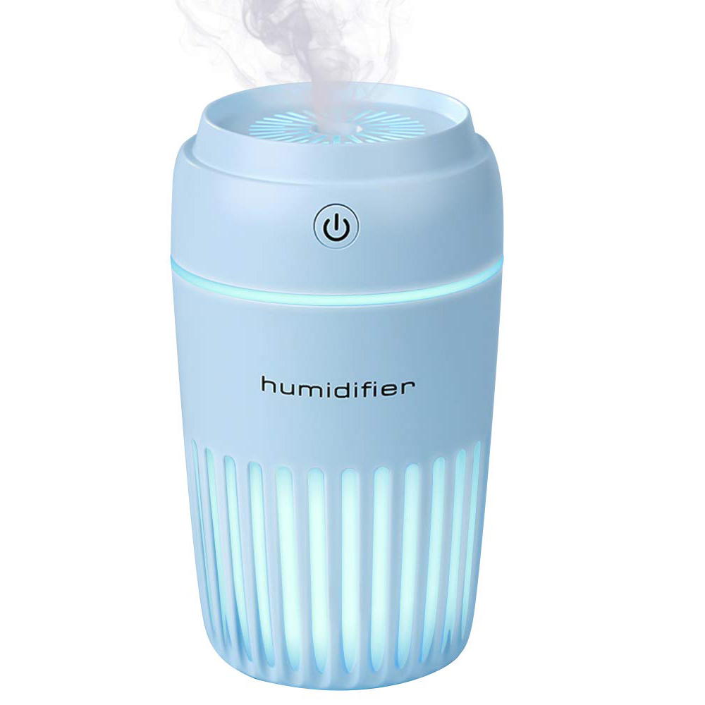 Aromatherapy Essential Oil Diffuser 300Ml Portable Usb Ultrasonic Cool Mist Humidifier Auto Shut-Off And 7 Fascinating Office