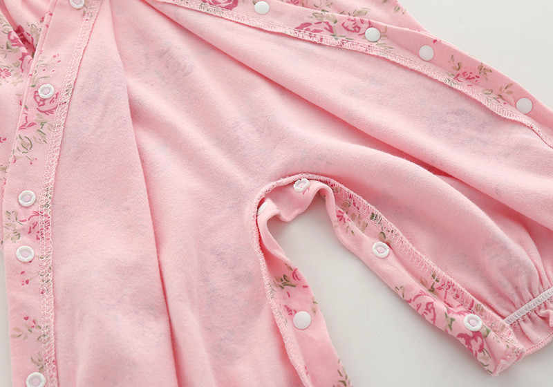 יילוד תינוקת בגדי ראפלס ארוך שרוול נסיכת סרבל סתיו תינוקות בנות בגד גוף + כובעי פרחוני סרט