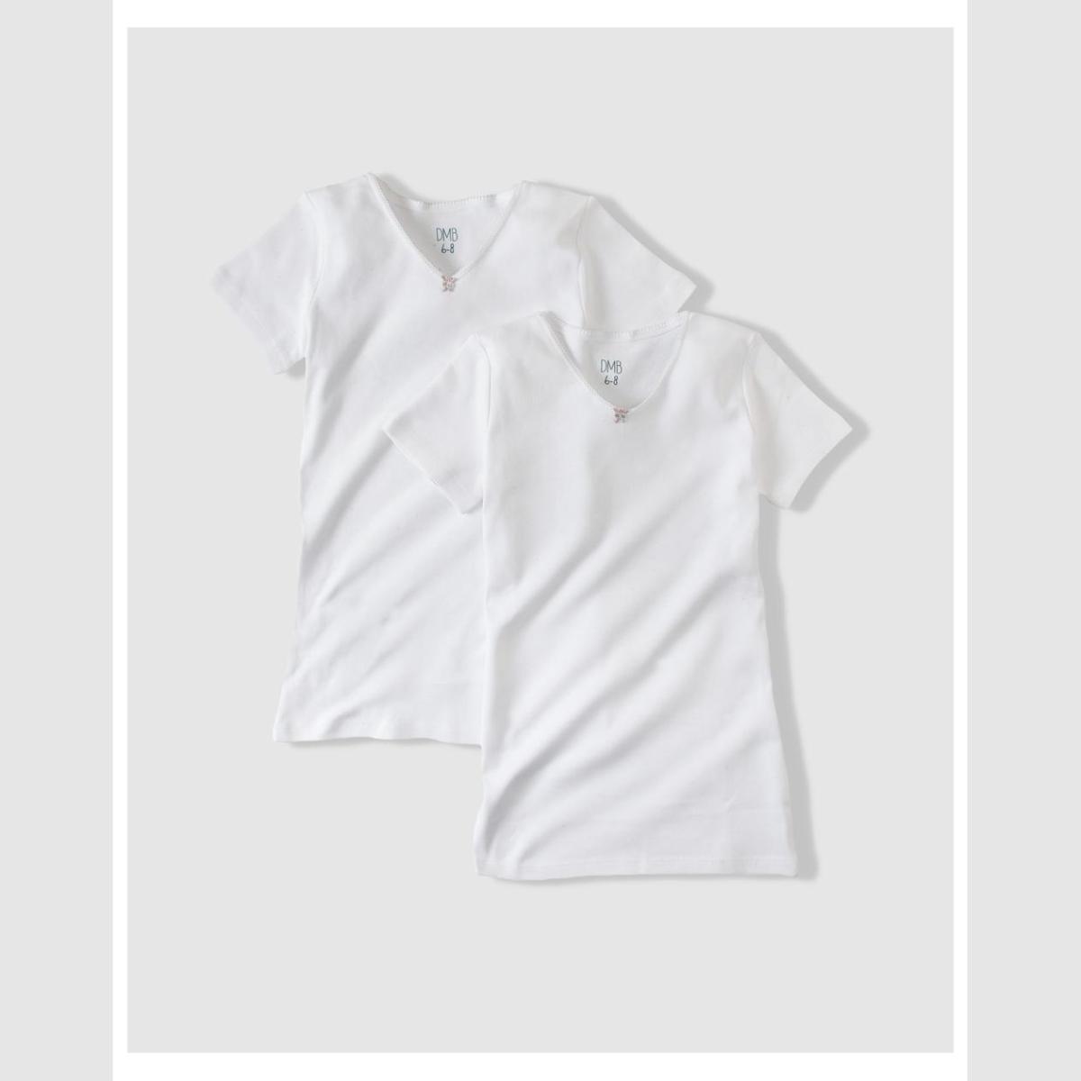 UNIT NINA COTTON UNDERWEAR PACK 2 рубашки с короткими рукавами. Комбинации   