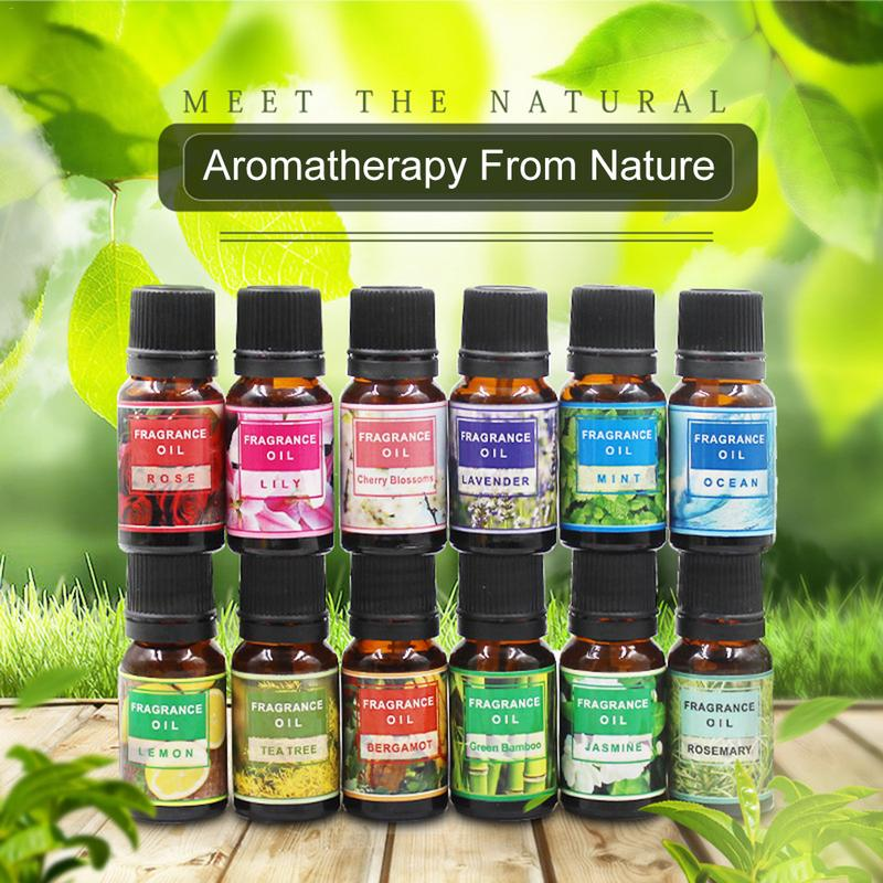 1PC Natural Plant Essential Oils For Aromatic Aromatherapy