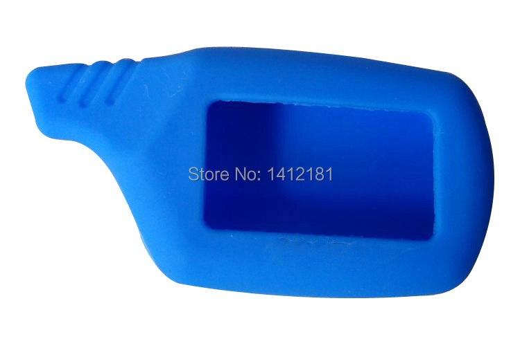Wholesale B9 Silicone Key Case For 2 Way Lcd Remote Control Keychain Key Chain Fob Starline B9 B6 A91 A61 B91 B61 V7