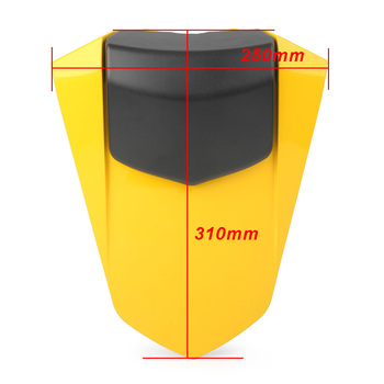 YZF R1 2007-2008 Rear Pillion Passenger Cowl Seat Back Cover GZYF Motorcycle Spare Parts For Yamaha 2007 2008 ABS plastic 2