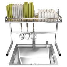 De Keuken Sponge Sink Organizer Cucina Etagere Stainless Steel Cocina Organizador Cozinha Kitchen Storage Rack Holder