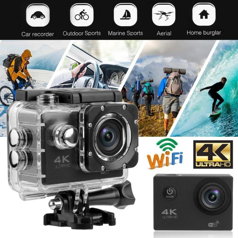 4 K 2.0in Touch Screen Action Kamera 140 Objektiv Hd Wifi Action Cam 30 M Unterwasser Wasserdichte Camcorder Sport Kamera Aksiyon Kamera