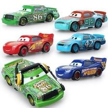 Disney  Cars Disney Pixar Cars 2 Cars 3 McQueen Racing Family Metal Alloy Diecast model Car Loose Brand New In Stock baby toys