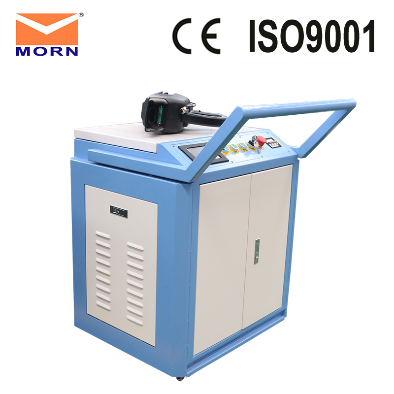 Factory Price Metal Rust Removal 100W Raycus MAX Optional Laser Cleaning Machine