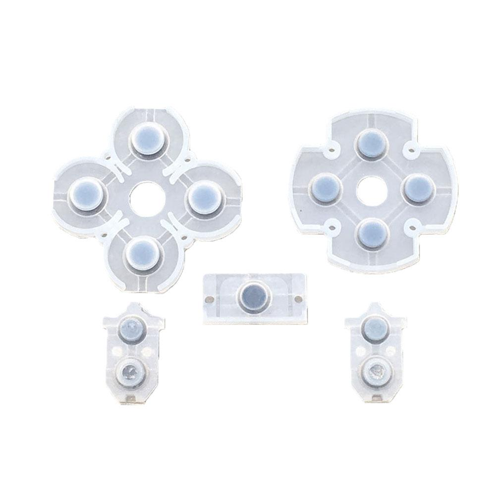 Fashion Game Replacement Parts Gamepad Button Controller Conductive Pads for SONY PS4Fashion Game Replacement Parts Gamepad Button Controller Conductive Pads for SONY PS4