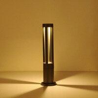 5 шт. 10 Вт водостойкий Двор Газон лампа творческий простой ландшафтное освещение Парк Вилла дорожки жилой сад свет