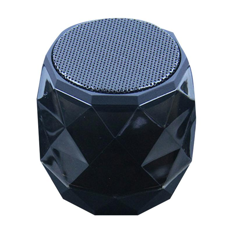 Image 5 - Portable Speaker Wireless Mini Bluetooth Player Small Diamond Shape Subwoofer Stereo Hd Sounds Music Surrounding Devices Home-in Portable Speakers from Consumer Electronics