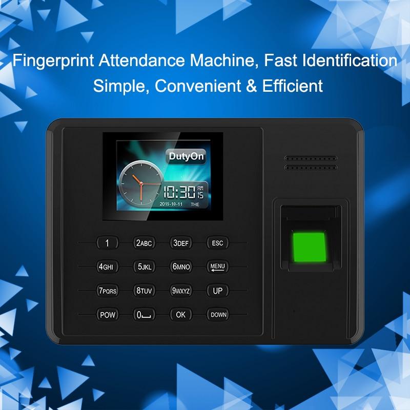 US $39 0 22% OFF Eseye Fingerprint Biometric Attendance System USB  Fingerprint Reader Office Clock Attendance Recorder Employee Device  Machine-in