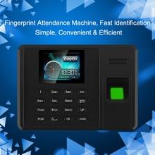 Eseye SISTEMA DE ASISTENCIA biométrica de huellas dactilares lector de huellas dactilares USB reloj de oficina grabadora de asistencia Dispositivo de empleado máquina