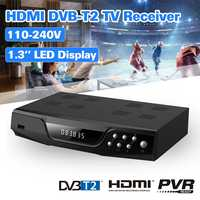 DVB T2 DVB T2 Combo Digital Set Top Box Full HD 1080P Satellite TV Receiver Support PVR EPG Youtube TV Box TV Receiver HDMI WIFI