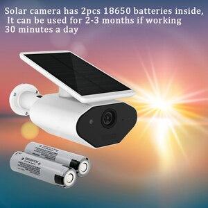 Image 5 - CTVMAN 1080 P Câmera WI FI Câmera de CFTV IP de Armazenamento Em Nuvem Sem Fio Energia Solar Solar 2MP HD Ao Ar Livre Casa de Segurança em Dois Sentidos áudio