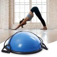 Мячи для йоги, балансирующие полушарие, фитнес мячи для спортзала, офиса, дома, для похудения, для наращивания мышц, для улицы, фитнес оборудо