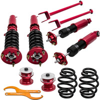 for BMW E46 Coilover Suspension Kit 98 05 for 3 Series 320i 323i 328i M3 Shock Absorber Strut with control arms Shock Absorber& Struts    -