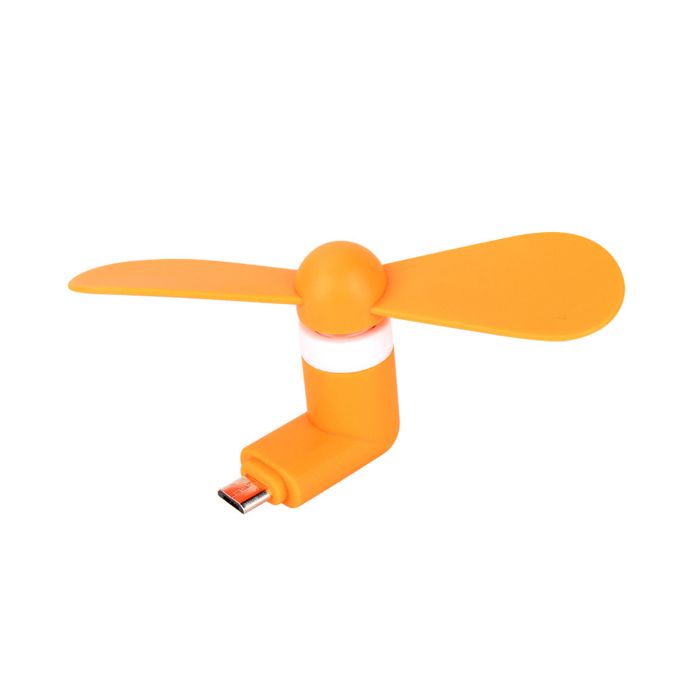 Best 5Pin Portable Flexible Cooling Fan Mini Super Mute USB Cooler For Android Phone USB