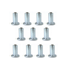 100pcs 8mm Car Tires Non-slip Studs Spikes Wheel Snow Chains For Vehicle Truck Motorcycle Winter