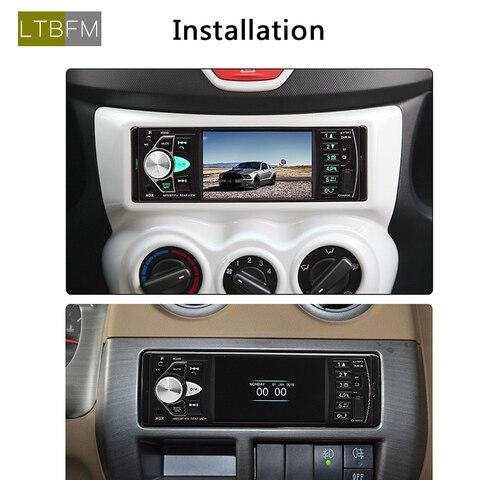tf usb mp3 radio coche audio video player