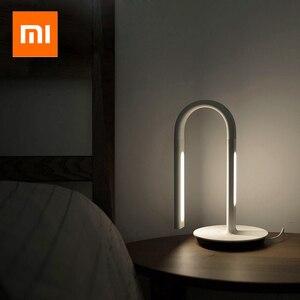 Image 1 - Xiaomi Mijia PHILIPS gece lambası Eyecare akıllı masa lambası App akıllı kontrol lambası 4 aydınlatma sahneleri xiaomi masa lambası