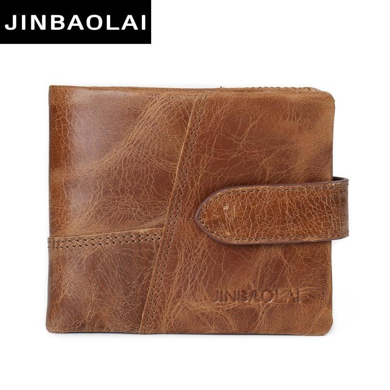 Luxury Brand 100% Genuine Cowhide Leather Portomonee Vintage Walet Male Wallet Men Long Clutch with Coin Purse Pocket Rfid Walet стоимость